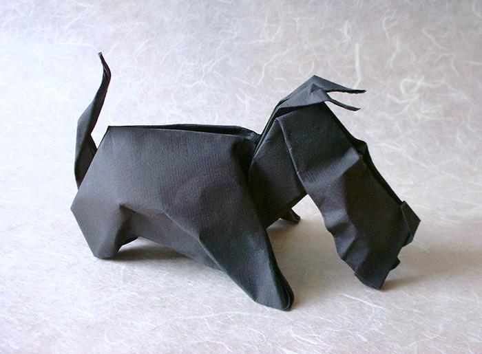 Origami Dog | 515x700