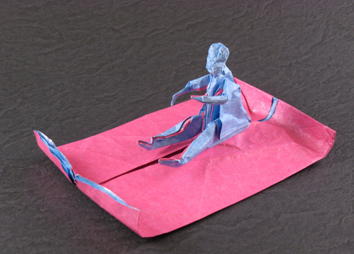 Origami Magic carpet by Fernando Gilgado Gomez folded by Gilad Aharoni