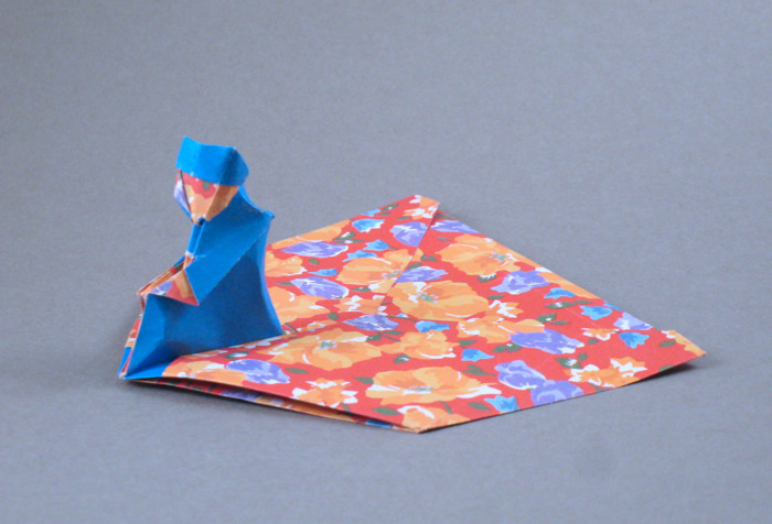 Origami Aladdin by Max Hulme folded by Gilad Aharoni