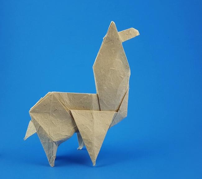 Origami Llamas Gilads Origami Page
