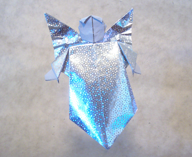 Origami Angel By Fernando Gilgado Gomez Folded Gilad Aharoni