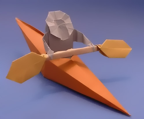 Origami Boat With Rectangle Paper