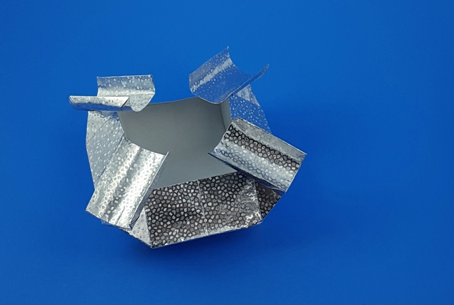 Origami Ashtray by David Brill folded by Gilad Aharoni