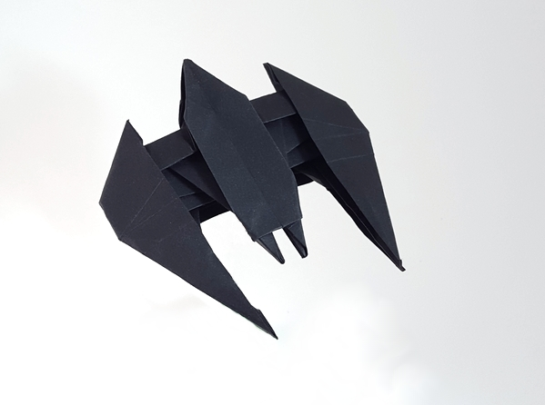 Origami Batman Page 1 Of 2 Gilads Origami Page