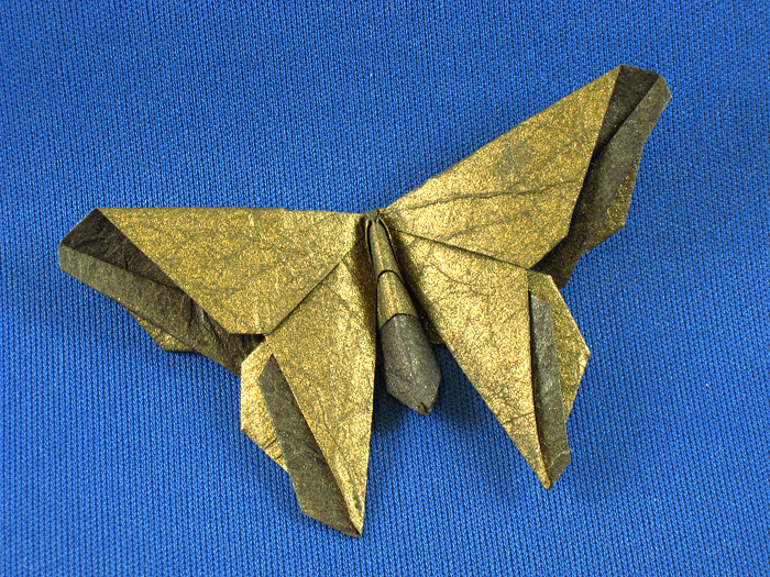 Origami Butterflies - Page 3 of 6 | Gilad's Origami Page - photo#30