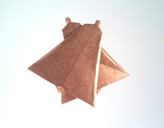 Origami Wedding bells by Mick Guy folded by Gilad Aharoni