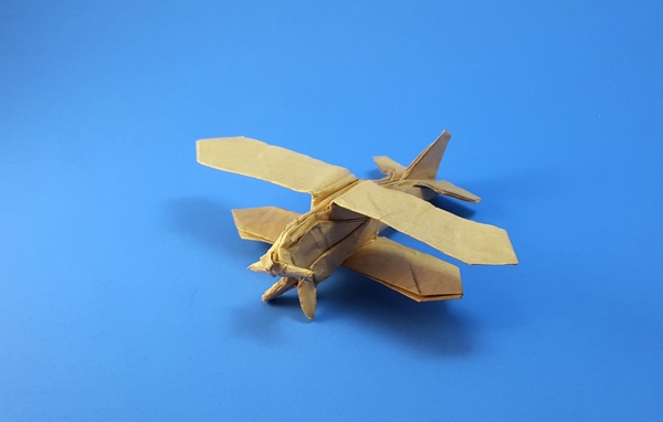 Origami Helicopter · Extract from Origami City Kit by Joel Stern ... | 382x600