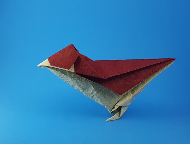 Little Bird designed by Satoshi Kamiya : origami | 492x650