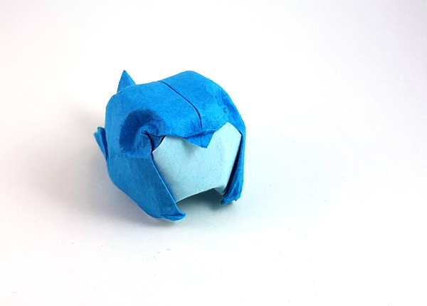 Origami Bird by Angel Morollon Guallar folded by Gilad Aharoni on giladorigami.com