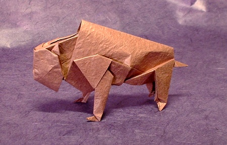 How to Fold an Easy Origami Cow | 289x450