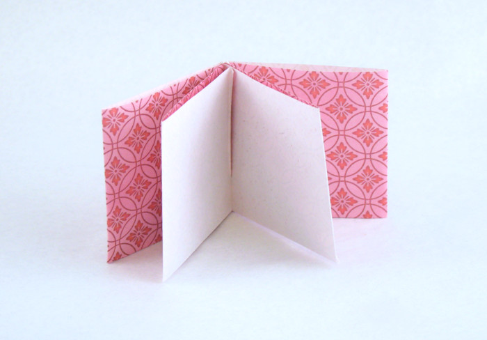 How to make a tall square origami box: page 1 | 488x700
