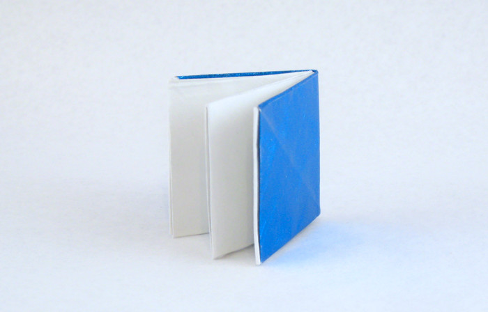Origami Notebook by Martin Wall folded by Gilad Aharoni on giladorigami.com