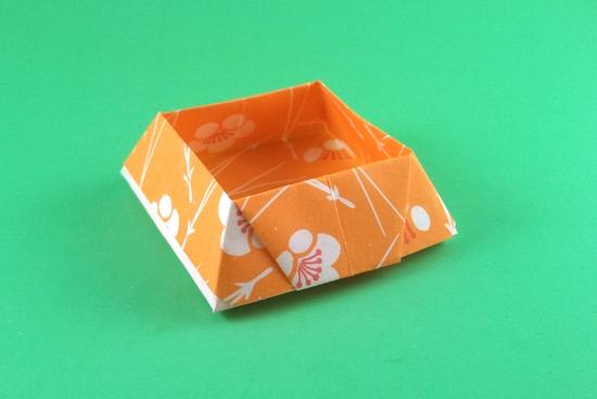 Geometric Origami Bowl Instructions - Paper Kawaii | 368x550