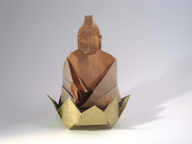 2 Units Origami Buddha By Dang Viet Tan Folded Gilad Aharoni On Giladorigami Swordsman