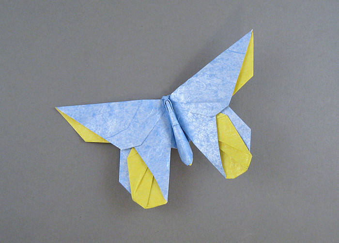 Michael LaFosse's Origami Butterflies by Michael G ... - photo#27
