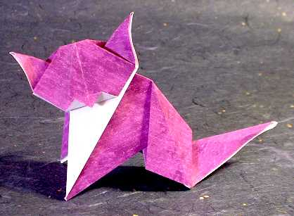cat origami instructions 171 embroidery amp origami
