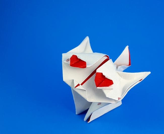 Easy Origami Bookmark Corner - How to make a Corner Bookmark DIY ... | 530x650