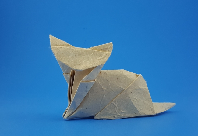 Origami Chopstick Wrapper Bird | 445x650