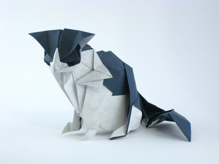 Origami Cats - Page 3 of 10 | Gilad's Origami Page - photo#46