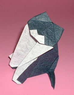Origami Cat by Marco Pavone folded by Gilad Aharoni on giladorigami.com