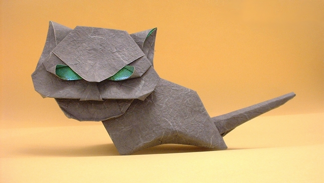 Cat By Akira Yoshizawa