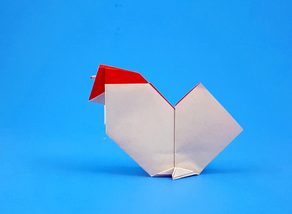 Chicken By Kunihiko Kasahara Diagrams In All Easy Origami
