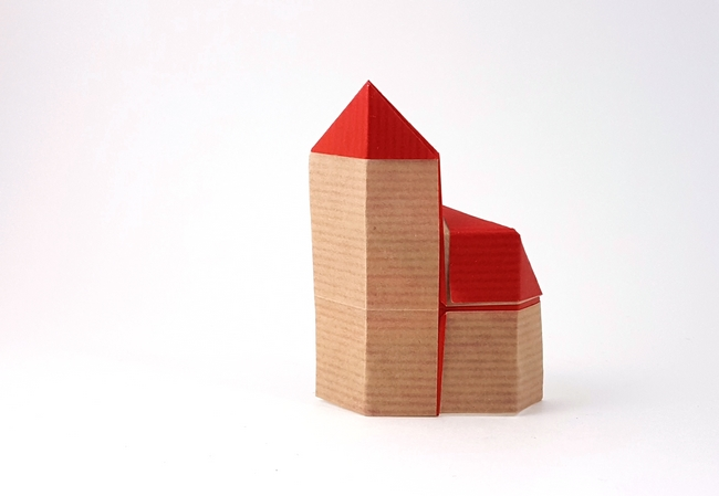 Origami Buildings - Page 1 of 2 | Gilad's Origami Page
