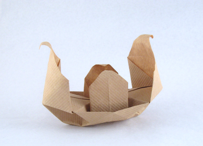 how to make origami boat - YouTube | 502x700