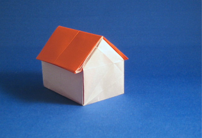 Origami Cottage by Peter Engel folded by Gilad Aharoni