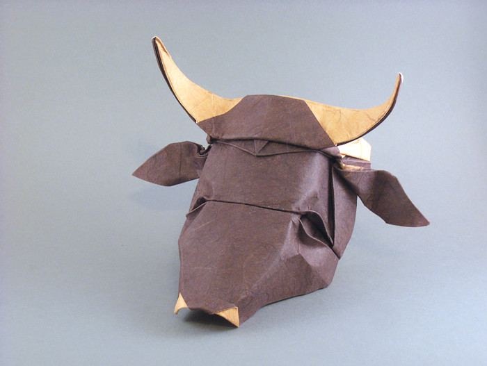 Cow Head By Tsuda Yoshio