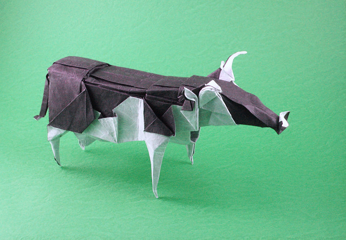 Cow By Fumiaki Kawahata Diagrams In Origami