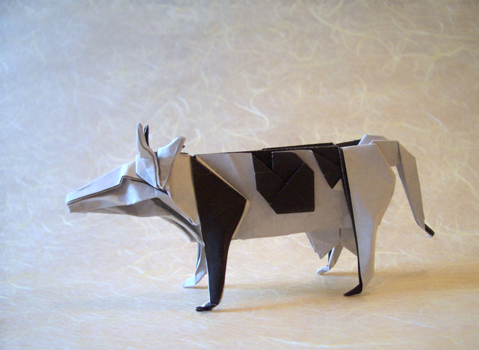 Origami Cows And Buffalo
