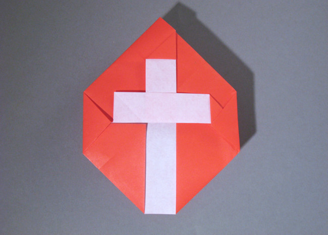 How to Make an Origami Cross -Version 1 of 2 | 466x650