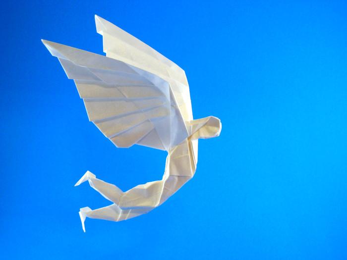Origami Daedalus By Gabriel Alvarez Casanovas Folded Gilad Aharoni