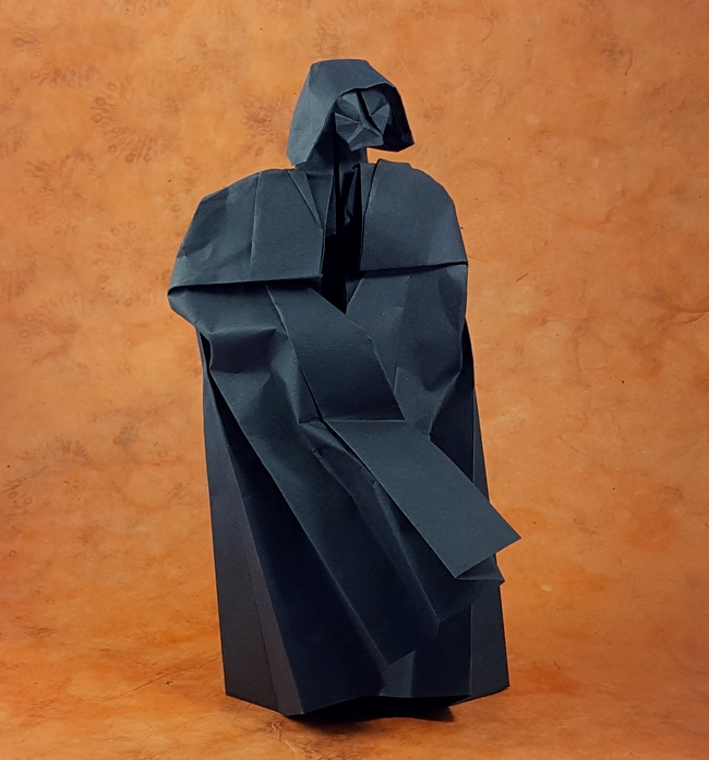 Darth Vader Angel Morollon Guallar Gilads Origami Page