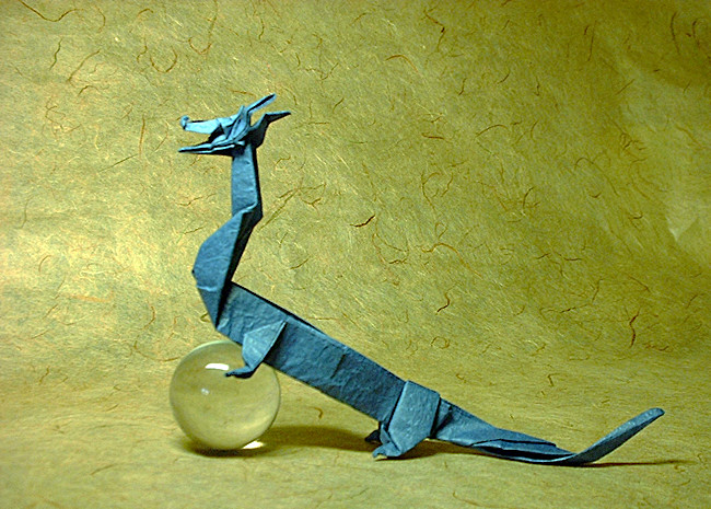 36 Square Origami Dragon