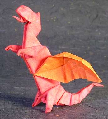 Origami Dragon by Peter Budai folded by Gilad Aharoni on giladorigami.com