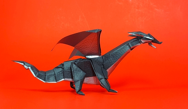 Incredible Origami Dragons that Will Set Your Heart on Fire | 380x650