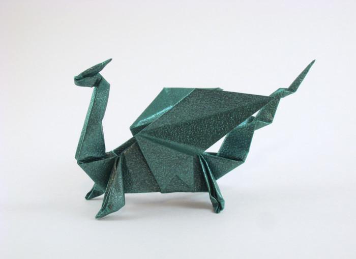 My Halloween Folding: Alessandro Beber's Gargoyle standing on a ... | 509x700