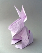 Origami Bunny by Roman Diaz database image from www.giladorigami.com