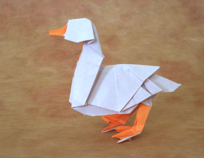 origami ducks and geese page 1 of 2 gilad s origami page rh giladorigami com Origami Duck Origami Paper Swan