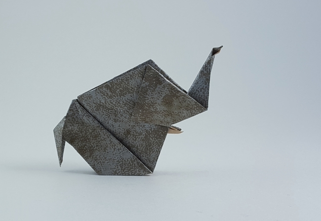 Money folded Rui elephant (v.1) – Barth Dunkan (AKA Magic … | Flickr | 447x650