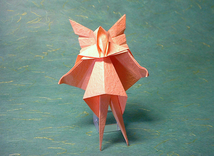 Origami Fairy - Tinkerbell by David Brill folded by Gilad Aharoni