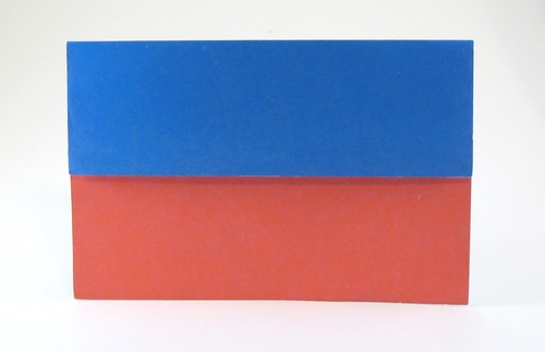 Origami Flag of Haiti by Gilad Aharoni folded by Gilad Aharoni