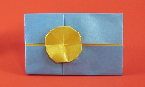 origami flag of palau