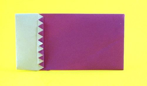 origami flag of qatar