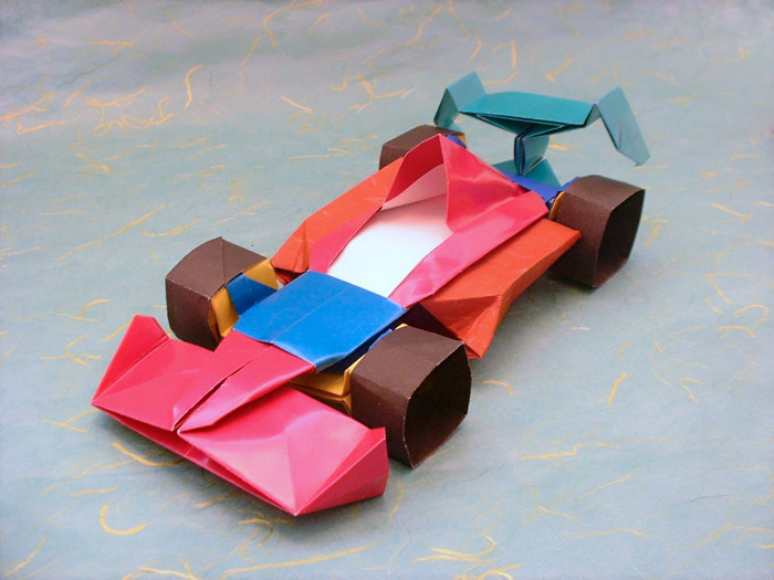 Formula 1 Race Car By Fumiaki Kawahata