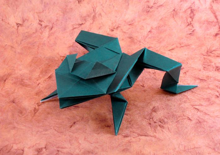 Origami Bullfrog by Tim-san on DeviantArt | 496x700