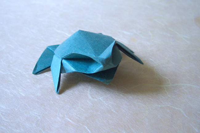 How To Make Origami Bullfrog - Origami My Life - YouTube | 431x650