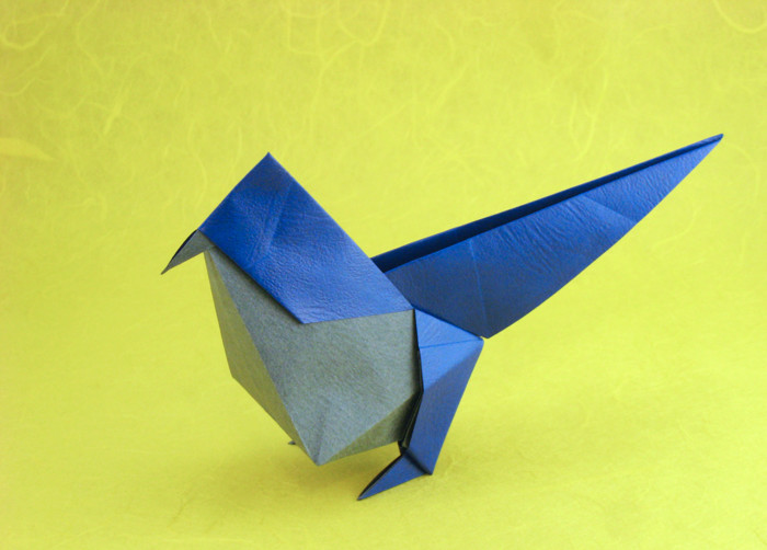 Origami bird Art Print by bridgetdavidson | Society6 | 502x700